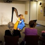 Harpist Amber Burdick Performing